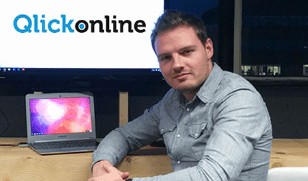 Mike Slaats, Owner and Head of the SEM team, Qlickonline